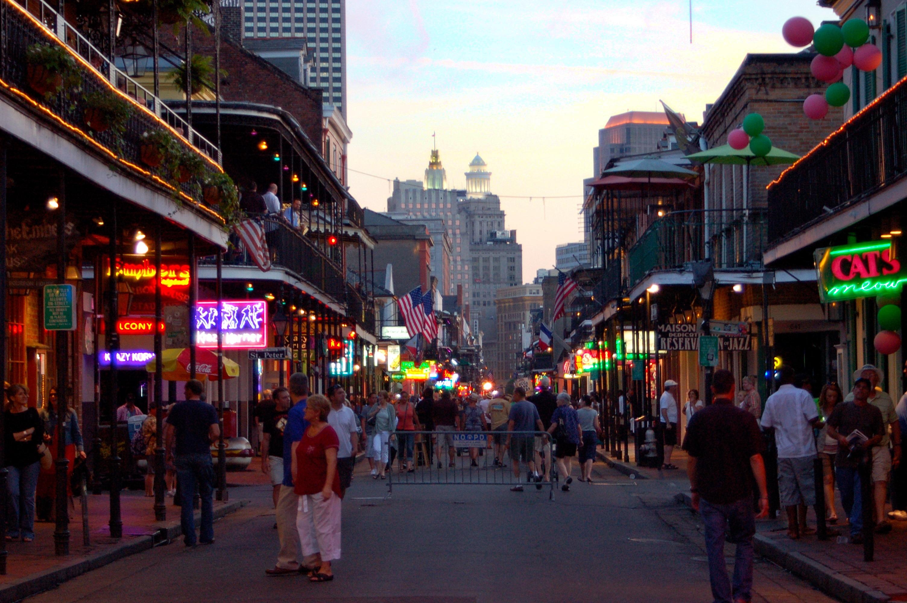 Bourbon Street New Orleans Easy Travel Guide