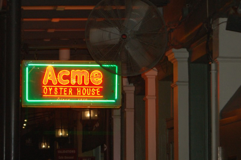 Acme Oyster Restaurant In New Orleans