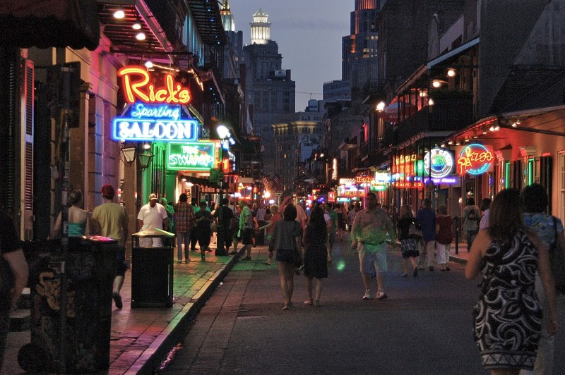 That means, all in all, the shortest distance would be going to New Orleans first. . Now, I