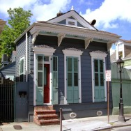 NOLA shotgun house