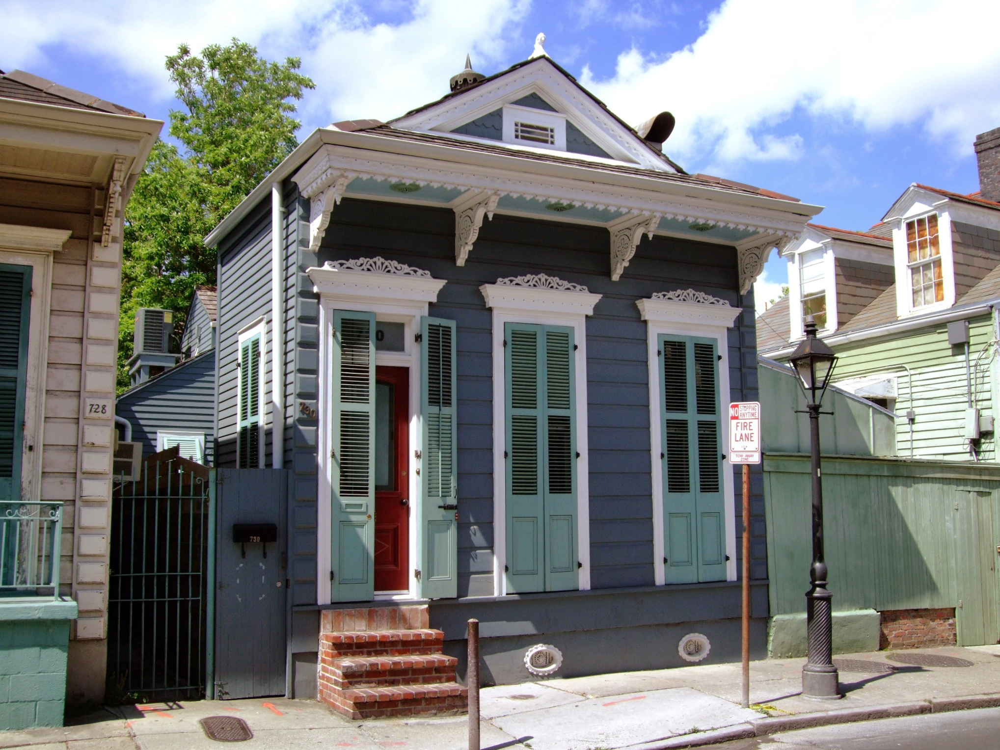 A shotgun house calls for decor with a light touch for New style house photos